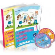 Simona Dobrescu - COMUNICARE IN LIMBA ROMANA. Manual pentru clasa I - Partea I si Partea a II-a (Contine 2 cd-uri)