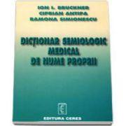 Dictionar semiologic medical de nume proprii (Ion Brukner)