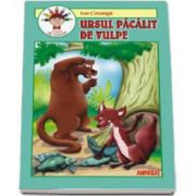 Ursul pacalit de vulpe - Carte de colorat (Adaptare text Laura Ivona Dumitru)