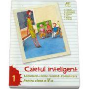 Caietul inteligent, pentru clasa a V-a, semestrul I. Literatura. Limba romana. Comunicare (Florin Ionita)