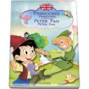 Pinocchio, Peter Pan. Povesti bilingve