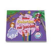 Disney, Coloram si ne jucam (3) - Planse de colorat cu activitati distractive