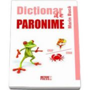 Dictionar de paronime (Marin Buca)