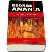 Test de fiabilitate (George Anania)