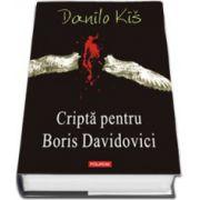 Cripta pentru Boris Davidovici (Editie Cartonata)