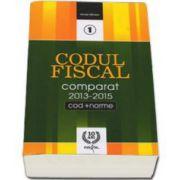 Codul Fiscal Comparat, editie actualizata de Nicolae Mandoiu. Contine modificarile din 2013-2015 (cod+norme)