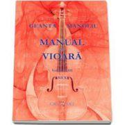 Geanta Manoliu, Manual de vioara - Anexa Volumul III