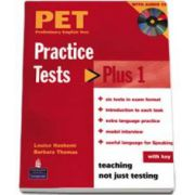 Practice Tests Plus PET 1 with key and audio CD pack (Barbara Thomas)