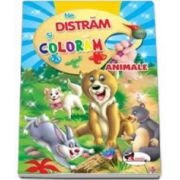 Ne distram si coloram Animale - Carte de colorat