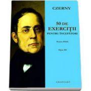 Czerny Carl, 50 de exercitii pentru incepatori pentru pian opus 481