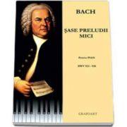 Johann Sebastian Bach, Sase preludii mici pentru pian BWV 933-938