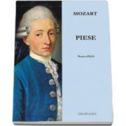 Piese pentru pian - W. A. Mozart. Partituri pian si percutie; pian 2 maini
