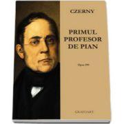 Primul profesor de pian (op. 599). Partituri pian si percutie; pian 2 maini