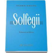 Solfegii, Iusceanu V. - Volumul III