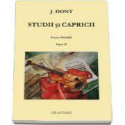 Jakob Dont, Studii si capricii pentru vioara opus 35