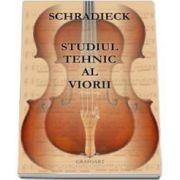Heinrich Schradieck, Studiul tehnic al viorii