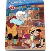 Invat sa citesc. Pinocchio - Nivelul 3. Editie cartonata