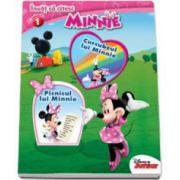 Invat sa citesc. Minnie. Curcubeul lui Minnie. Picnicul lui Minnie - Nivelul 1. Editie cartonata