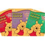 Invat engleza cu Winnie de plus. Set 3 volume + CD (Disney English)