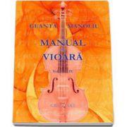 Geanta Manoliu, Manual de vioara - Volumul IV