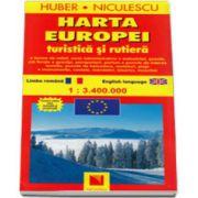 Harta Europei - Turistica si rutiera