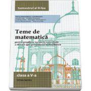 Teme de matematica, clasa a V-a. Semestrul II (2014)