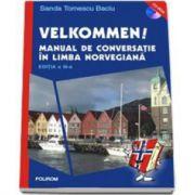 Sanda Tomescu Baciu, Velkommen! Manual de conversatie in limba norvegiana (Editia a III-a revazuta, contine CD)