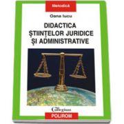 Didactica stiintelor juridice si administrative