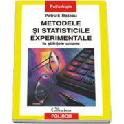 Metodele si statisticile experimentale in stiintele umane