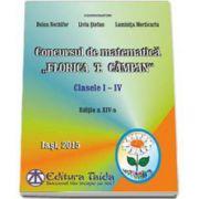 Doina Nechifor, Concursul de matematica Florica T. Campan pentru clasele I-IV (Editia a XIV-a)