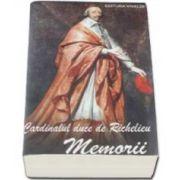 Cardinalul Duce de Richelieu, Memorii
