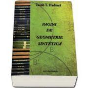 Iacob T. Hadarca, Pagini de geometrie sintetica