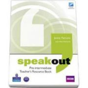 Speakout Pre-Intermediate level. Teachers Book (Parsons Jenny)