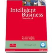 Intelligent Business Pre-Intermediate Coursebook with Audio-CD (Christine Johnson)
