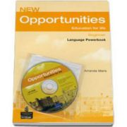 New Opportunities Beginner level. Language Powerbook with CD-Rom (Maris Amanda)