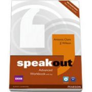 Speakout Advanced Workbook with Key and CD pack (Antonia Clare)