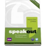 Speakout Pre-Intermediate Workbook with Key and CD pack (Antonia Clare)