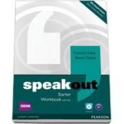Speakout Starter level Workbook with Key and Audio CD (Frances Eales)