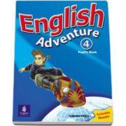 Hearn Izabella - English Adventure, level 4. Pupils Book plus Reader