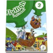 Curs de limba engleza Fly High level 3- Pupils Book with Audio CD (Jeanne Perrett)