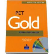 PET Gold Exam Maximiser with Key and Cd pack. Self Study Edition
