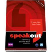 Speakout Elementary Students Book with Activebook - Frances Eales