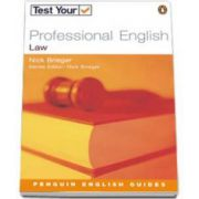 Nick Brieger, Test your Professional English Law