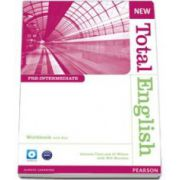 New Total English Pre-Inermediate level Workbook with Key and Audio-CD (A2-B1)
