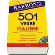 501 verbe italiene - Contine CD