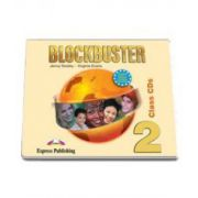 Virginia Evans, Curs de limba engleza Blockbuster 2. Audio Class CD (4 CDs)