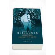 Martin Heidegger, Originea operei de arta