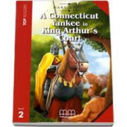 Mark Twain - A Connecticut Yankee at King Arthurs Court. Story adapted by H. Q. Mitchell. Readers pack with CD level 2
