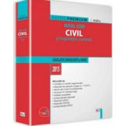 Noul Cod civil si legislatie conexa. Legislatie consolidata si index - 2015 (Editie premium)