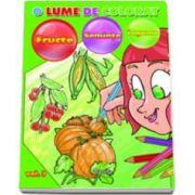 O lume de colorat. Fructe, Seminte, Legume. Volumul III
